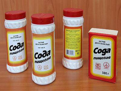 Увеличение пениса содой