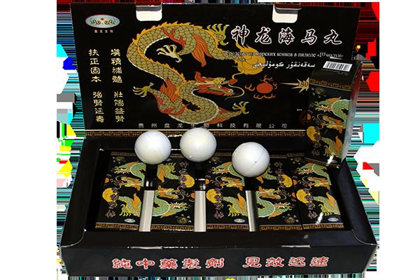 черные китайские шарики для потенции