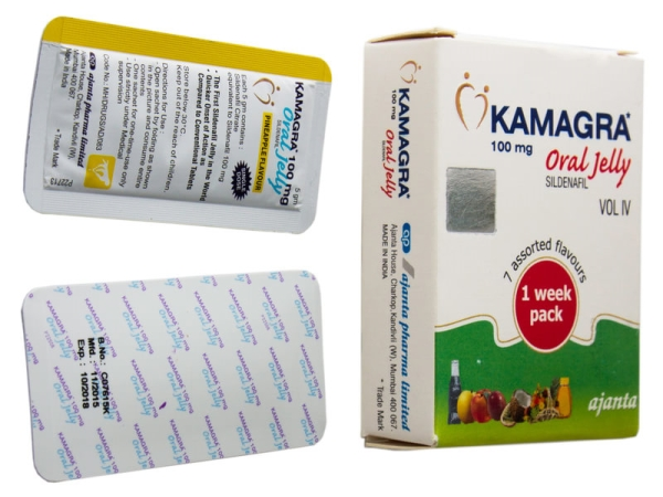 Kamagra oral jelly (гель)