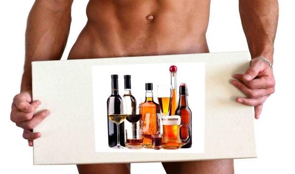 Влияние горячительных напитков на потенцию: фото 1