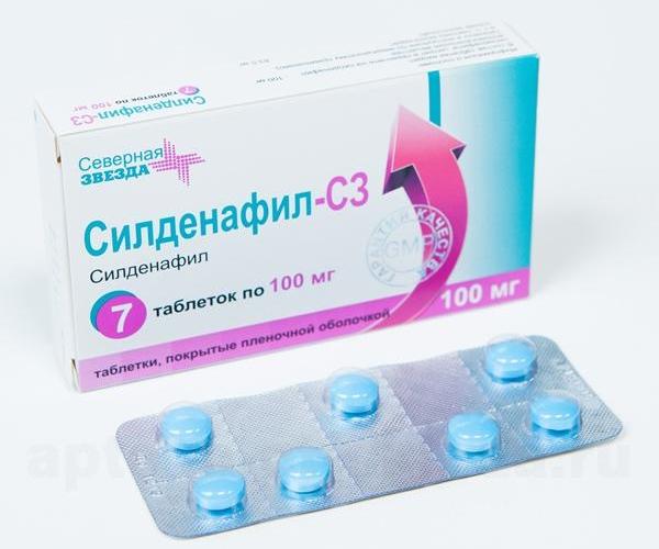 Что это за таблетки силденафил С3 (Северная Звезда)